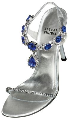 Stuart Weitzman Tanzanite Heels Shoes are made for walking; however, some are made just for show and some are so expensive you'd be scared to even wear them! Check out these luxurious and lavish most expensive shoes in the world! Zapatos Shoes, Women's Shoes, Shoe Boots, High Shoes, Stuart Weitzman, Most Expensive Shoes, Saphir Rose, Harry Winston, Fashion Mode