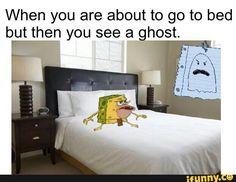 ghost, cavemanspongebob, spongegar