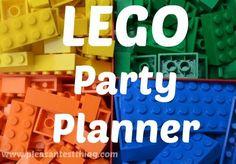 milleideeperunafesta: Lego: inviti, decorazioni, torta, giochi....