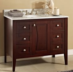 Fairmont vanity, also comes in white