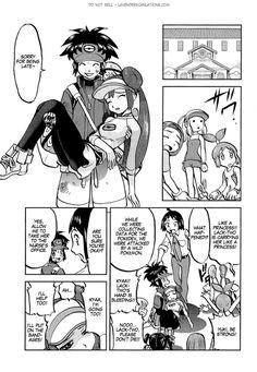 Pokemon Manga, Manga Anime, Pokemon Adventures Manga, Pokemon Ships, Pokemon Special, Lol, Comics, Memes, Cute