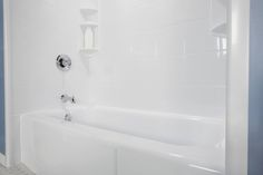 Whether you're itching to update your bathtub or shower, or just now starting to think that a change is in your future, a new bathtub/shower liner is worth considering, as it can improve your bathroom in a number of different ways at a fraction of the cost of major bathroom renovations. #bathfitter #vancouver #justoneday #renovations #remodeling www.bathfitter.com