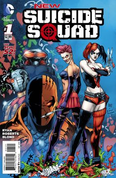 NEW SUICIDE SQUAD #1 … JULY 2014 Written by SEAN RYAN Art by JEREMY ROBERTS Variant cover by IVAN REIS & JOE PRADO The world has changed for the Suicide Squad. Director Amanda Waller no longer has the autonomy she once had. New members disrupt the team dynamic. The team takes on an international scope. New members Joker's Daughter, Deathstroke & Black Manta join Harley Quinn & Deadshot for a mission in the most dangerous and unpredictable place in the world: Vladimir Putin's Russia!