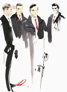 David Downton captures the magic of Chanel's Metiers d'Art show in Scotland - Telegraph