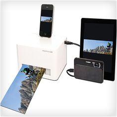 Smartphone Photo Cube Printer