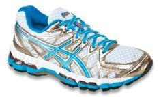 Asics Gel Kayano 20 White Island Blue Electric Melon Women's Running Shoe BNIB | eBay