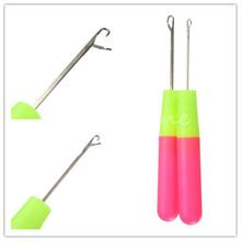 Melhor ferramenta de cabo de 15.5 cm crochê tricô tecer trança cabelo agulha(China (Mainland))