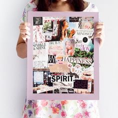 51 Vision Board Ideas for Your Important Goals in 2020 - Goal Setting 2020 Vision Boarding, Sarah Prout, Goal Board, Creating A Vision Board, Visualisation, Planners, Influential People, Arnold Schwarzenegger, Oprah Winfrey