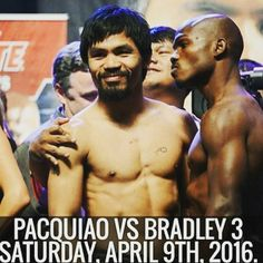 #PacquiaoBradley @mannypacquiao has made his decision: He will fight welterweight titleholder @timothybradley Jr. for a third time on April 9 at the MGM Grand in Las Vegas in the main event of an HBO PPV card #boxing #mma #ufc #swag #like4follow #followforfollow #picoftheday #followtrain #abs #bestoftheday #model #bored #beach #followme #igers  #equinox #fitfam  #challenge #complex #learning #fun #wehandstand #inspiration #motivation #muscles #gains #workout #nutrishop #dedicated by…