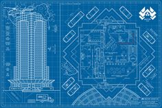 """""""Nakatomi Footprint""""  36"""" x 24"""" Screen-print  Numbered edition of 60  Inspired by Die Hard  Printed by Seizure Palace Screen-Printing  $40.00"""