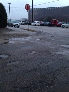 Minneapolis is one of America's great cities. But looks like this road needs some major work. #InvestinUS
