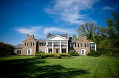 We can't get enough of Glenview Mansion in Rockville Maryland.... it's ahhhhmazing..... What a cool venue for an event.