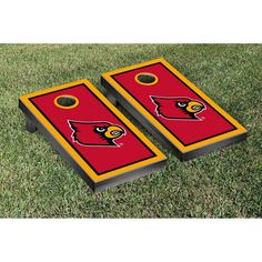 Victory Tailgate Louisville Cardinals Cornhole Game Set - 43846