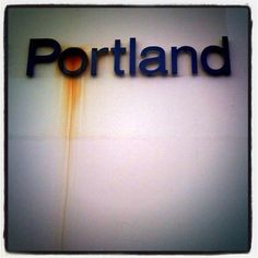 portland, love the touch of rust