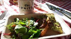Gemüsequiche mit Maille Senf beim Foodblogger-Event im Foodtruck