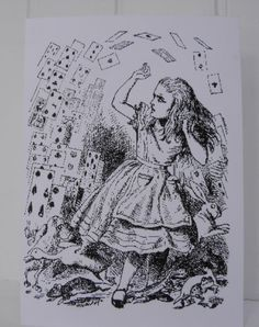 Alice in Wonderland classic illustration