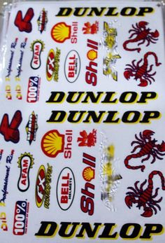 Racing Sticker Decals mx,mtx,supercross 46 Stickers Free Shipping #stickerdecalsworlwide