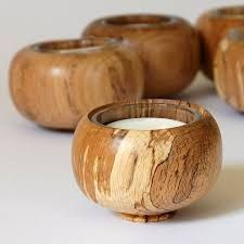 Spalted Beech Wooden Tea-light Holder 66 x 48 mm Wooden Tea Light Holder, Wooden Candle Holders, Wood Turning Projects, Diy Wood Projects, Clay Fairy House, Craft Stalls, T Lights, Wood Clocks, Candle Stand