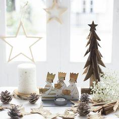 Portavelas perfecto para estas navidades representando a los reyes magos☄