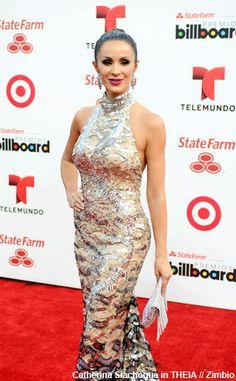 NewYorkDress Blog // #Latin #Billboard Awards 2014 // Click through for more stylish Latin stars in NewYorkDress! // Photo: Catherine Siachoque in THEIA
