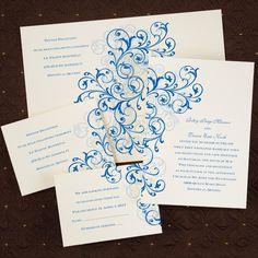 Affordable Style Wedding Invitations from My Sweet Wedding & Event Co. www.mysweetwedding.com