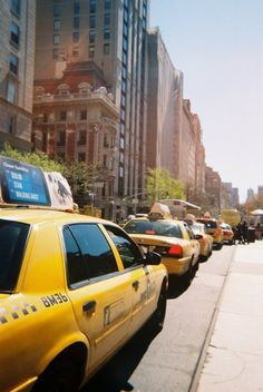 Those iconic taxis!  we are loving yellow at the moment, here in the East Design Team