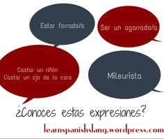 Aprendre 5 expresiones coloquiales sobre el #dinero con SpanishOnline.Es