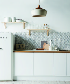 that tile....LOVE!