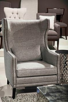 Kingston Wing Chair - Bernhardt Furniture
