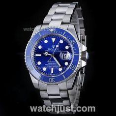 Replica Rolex Submariner Automatic with Blue Dial S/S -Blue Ceramic Bezel copia mas vendida de rolex 94€