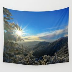 Ceahlau Mountain Romania Wall Tapestry