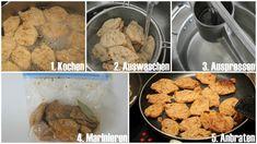 Soja-Medaillons, Big Steaks richtig zubereiten – Vegetarisch/Vegan für Anfänger Steaks, Big Steak, Meal Prep, Cereal, Vegan Recipes, Meat, Breakfast, Ethnic Recipes, Food