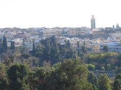 Ciudad histórica de Mequínez Marruecos.