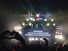 """""""Remember: Life is all about those moments you never forget."""" - Above & Beyond #abgt"""