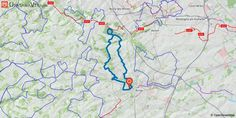 [Pas-de-Calais] Arras : Rando de l'U.S.A.O. Rando de l'USAO sans passage dans la citadelle.  La rando peut -être pratiquée par temps humide ou pluvieux.  Les deux principales difficultés sont le Mont-Saint-Eloi et la côte d'Ablain-Saint-Nazaire.....