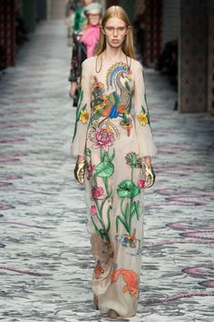 Gucci Spring/Summer 2016 Sees the Glorious Blossoming of Alessandro Michele | SENATUS