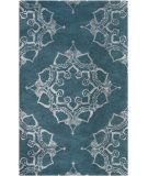 RugStudio presents Surya Henna HEN-1003 Neutral / Blue Hand-Tufted, Good Quality Area Rug