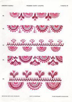 FolkCostume&Embroidery: Embroidery of the 'White' Kurpie, Mazowsze, Poland