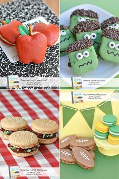 Gourmet French Macarons Book {Giveaway} - Glorious Treats