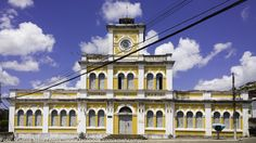 Antiga Estação Ferroviária Central da Bahia