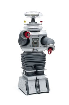 """Moebius Models scale """"Lost in Space"""" Robot Retro Robot, Retro Toys, 70s Toys, Sci Fi Tv Shows, Old Tv Shows, Cartoon Tv, Vintage Cartoon, B9 Robot, Robot Images"""