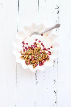 (Vegan, Gluten-Free) Stovetop Maple Pumpkin Granola | Sprinkle with Salt, October 2015