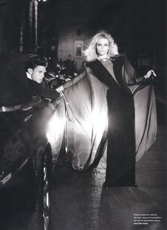 Numero 116 September 2010. Couture by Night, Natasha Poly & Baptiste Giabiconi by Karl Lagerfeld