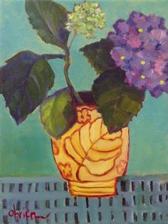 Where ART Lives Gallery Artists Group Blog:   Contemporary Expressionist Bold Still Life Flowe...