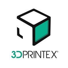 Logotipo 3DPrintEX sobre fondo claro. 3DPrintex era un proyecto de empresa que tenía por objetivo ofrecer servicios de impresión 3D por encargo en Extremadura.