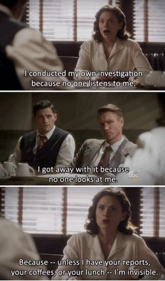 Peggy Carter is amazing.