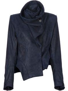 Women - Only New In - Ann Demeulemeester Suede Stuctured Jacket - Feathers Fashion Online Store