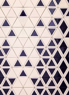 Great ceramic tiles by David Pompa #triangle