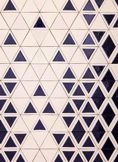 Great ceramic tiles by David Pompa #triangle