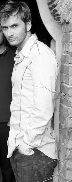 A young David Tennant